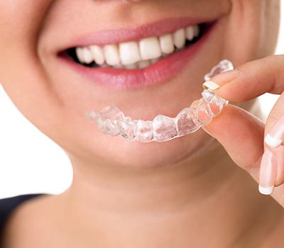 Invisalign Kennesaw Woman wearing Invisalign