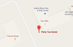 Dentist Kennesaw - Google Map